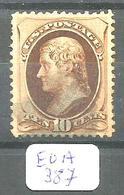 EUA Scott 161 Blue Cancel YT 55A Used - 1847-99 General Issues