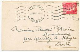 31 DECEMBRE 1946 DERNIER JOUR DE TARIF SUR GANDON NANCY MEURTHE ET MOSELLE - Marcophilie (Lettres)