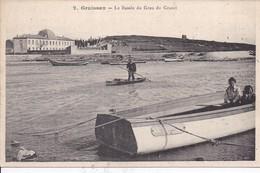 11 GRUISSAN - Le Bassin Du Grau Du Grazel - Animée - Éd. PALAU - Dos Notice - France