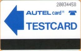 Nigeria - NGA-TM-2, Autelca, Autel TESTCARD N20, 15.000ex, Used As Scan - Nigeria