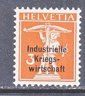 SWITZERLAND  1 O 9  *   WAR  TRADE - Dienstzegels