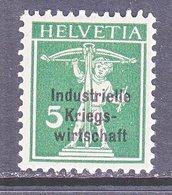SWITZERLAND  1 O 10  *   WAR  TRADE - Dienstzegels
