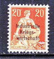 SWITZERLAND  1 O 14  Fake Cd ?   (o)   WAR  TRADE - Officials