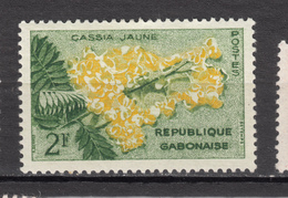 ##19, Gabon, Fleur, Flower - Gabon (1960-...)