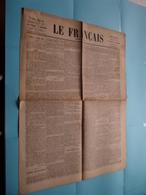 Le Français ( Le Journal Du Soir ) 4 Pages : 15 Centimes : Samedi 2 Avril 1870 - 3me Année - N° 92 - Paris ! - Kranten
