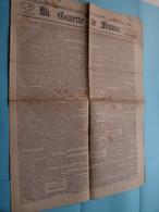 La GAZETTE De FRANCE (4 Pages) 15 Centimes : Lundi 27 Novembre 1871 - 241e Année - Paris (Janicot) ! - Kranten