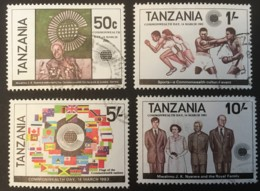 TANZANIA - (O) - 1983 - # 217/220 - Tanzanie (1964-...)