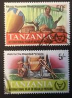 TANZANIA - (O) - 1981 - # 185, 187 - Tanzanie (1964-...)