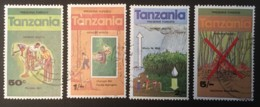 TANZANIA - (O) - 1979 - # 127/130 - Tanzanie (1964-...)