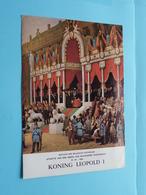 KONING LEOPOLD I ( Folder Nr. 19 - 1965 Met Zegels ) ( Malvaux Brussel : Zie/voir Photo ) ! - Documents De La Poste