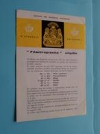 FILANTROPISCHE Uitgifte ( Folder 1961 Met Zegels Postfris ) ( Malvaux Brussel : Zie/voir Photo ) ! - Documents De La Poste