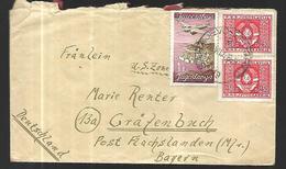 Yougoslavie  Lettre  Du 26   07  1948   De Sarajevo Vers  Flachslanden ( Bavière ) - 1945-1992 Socialist Federal Republic Of Yugoslavia