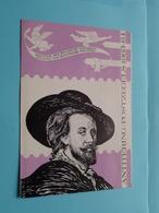 ANTITERING POSTZEGELS 1963 - 1964 ( Folder Met Zegels Afgestempeld 1963 ) ( Malvaux Brussel : Zie/voir Photo ) RUBENS ! - Documents De La Poste