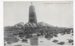 GRANVILLE - N° 106 - LA TOUR ET LE RECIF DU LOUP - CPA NON VOYAGEE - Granville