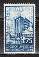 389**  Le Palais Du Centenaire - Bonne Valeur - MNH** - Vendu à 10% Du COB!!!! - Neufs