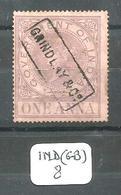 IND (GB) Fiscaux - Indien (...-1947)