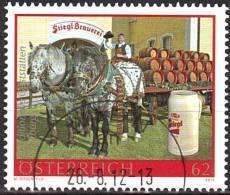 AUSTRIA ÖSTERREICH 2012 Gastronomie Mit Tradition - Stiegelbrauerei USED / O / GESTEMPELT - 1945-.... 2. Republik