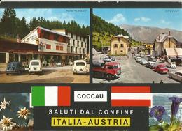 COCCAU SALUTI DAL CONFINE ITALIA AUSTRIA  (218) - Saluti Da.../ Gruss Aus...