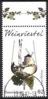 AUSTRIA ÖSTERREICH 2012 Weinregionen Österreichs - Weinviertel  USED / O / GESTEMPELT - 1945-.... 2. Republik