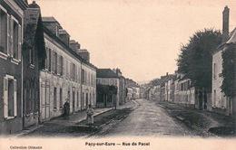 CPA 27 PACY SUR EURE , Rue De PACEL - Pacy-sur-Eure