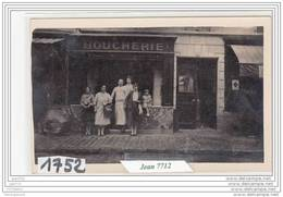 7244 AK/PC/CARTE PHOTO/1752/BOUCHERIE A IDENTIFIER/TTB - Cartoline
