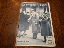 Le Patriote Illustré N° 47 Du 24/11/1957.Expédition De Gerlache,la Guerre Des Services Secrets..... - Informations Générales
