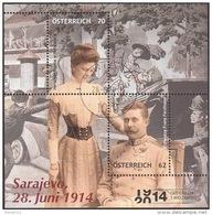 AUSTRIA ÖSTERREICH 2014 Sarajevo 1914 - 2014 (Block)  USED / O / GESTEMPELT - 1945-.... 2. Republik