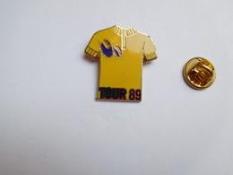 Beau Pin's , Cyclisme Vélo , Tour De France 89 , Maillot Jaune , En EGF - Ciclismo