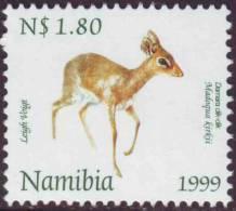 D10602 Namibia South West Africa 1999 DAMARA DIK-DIK Antelope MNH  - SWA Namibia Namibie - Namibie (1990- ...)