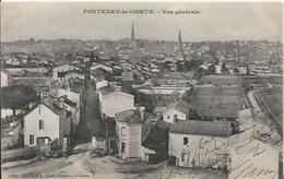 Carte Postale Ancienne De Fontenay Le Comte Vue Generale - Fontenay Le Comte