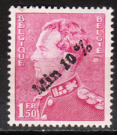 724A**  Poortman Surchargé -10% - SOTTEGEM - MNH** - LOOK!!!! - 1946 -10%
