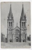 CHERBOURG - N° 64 - L' EGLISE NOTRE DAME DU VOEU - CPA NON VOYAGEE - Cherbourg