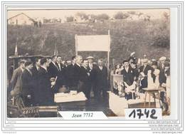 7234 AK/PC/CARTE PHOTO/1742/INAUGURATION A IDENTIFIER/17 AOUT 1930/TTB - Cartoline