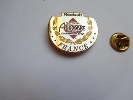 Beau Pin's , National Aérobic France  , Reebook , Gymnastique - Gymnastiek