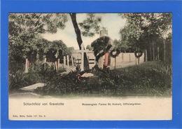 57 MOSELLE - GRAVELOTTE Charnier à La Ferme Saint-Hubert (voir Descriptif) Pionnière Aquarellée - Autres Communes