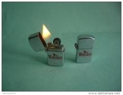 EXTRA MINI BRIQUET WINSTON LIGHTER Feuerzeug ACCENDINO AANSTEKER ENCENDEDOR 打火机 Léttari Ljusare ライター αναπτήρας Sytytin / - Non Classés