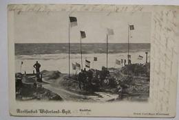 Westerland Sylt Landsturm Rendsburg Feldpost (9023) - Weltkrieg 1914-18