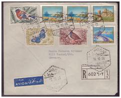 Libanon (007537) Einschreiben Luftpost Beyrouth, Gelaufen Nach Kochel A. See. Am 16.12.1966 - Libanon