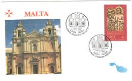 13029 - Visite JEAN PAUL II - Malte