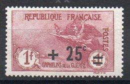 FRANCE - YT N° 168 - Neuf ** - MNH- Cote: 70,00 € - Frankreich