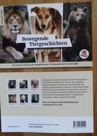 AUSTRIA, 2018,MNH, PERSONALIZED BKLT,MOVING ANIMAL STORIES,LIONS, BEARS, DOGS, ELE[HANTS, ORANG UTANS, CATS - Big Cats (cats Of Prey)