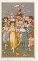 Christmas  Card  E.H.Fahey Begone Dull Care Bring Merry Christmas In    Egc191 - Old Paper