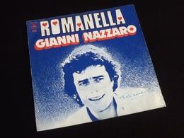Vinyle 45 Tours Gianni Nazzaro Romanella  (1975) - Vinyles