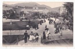 Carte Postale Nice Le Jardin Public - Places, Squares