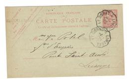 13036 - Ambulant LE DORAT A LIMOGES - Marcophilie (Lettres)