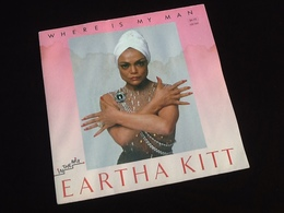 Vinyle 45 Tours Eartha  Kitt Vhere Is My Man (1983) - Vinyles
