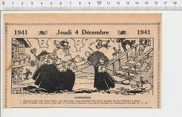 2 Scans Presse 1941 Humour Rhume Maladie Armoire à Glace Commissaire-priseur Escalier Ancien En Pierre 223XT - Non Classés