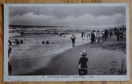 33 : Lacanau-Océan - La Plage - Animée - Plan Inhabituel - (n°14073) - France