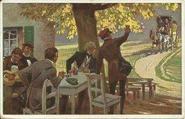 AK Paul Hey Volksliedkarte 33 Was Kommt Dort ... Color 1918 #33 - Hey, Paul