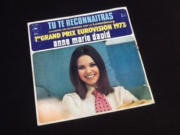 Vinyle 45 Tours Anne Marie David  Tu Te Reconnaitras (1973) - Vinyles